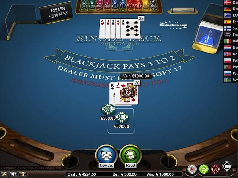 The Perks Of Online For Free Blackjack