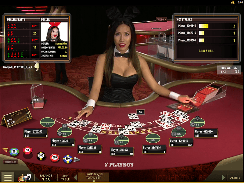 Playing Online Blackjack